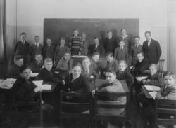 Läroverksklass