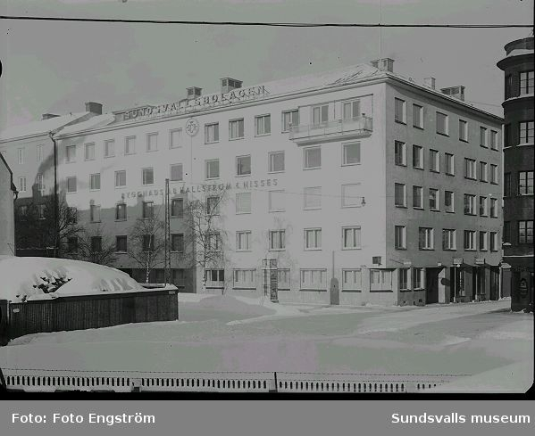 Sundsvallsbolagens byggnad.