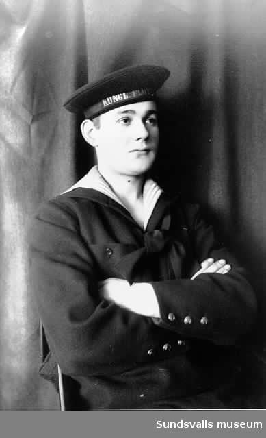 Porträtt av Einar Häggström.