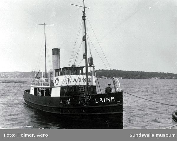 Kubikenborgs bogserbåt Laine.