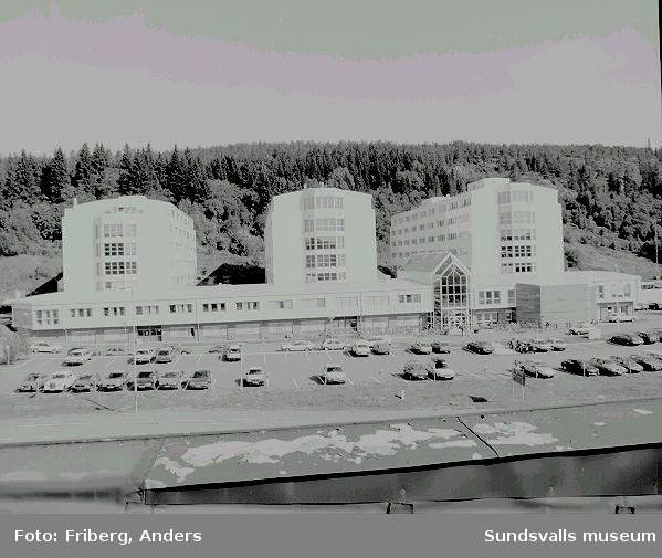 Utvecklingscentrum Västhagen, företagshotell, Västhagen 1:24, Fabriksgatan 32. Utvecklingscentrum, ritat avTor Dahl, K-Konsult, uppfördes 1985/1986 och 1987/1988.