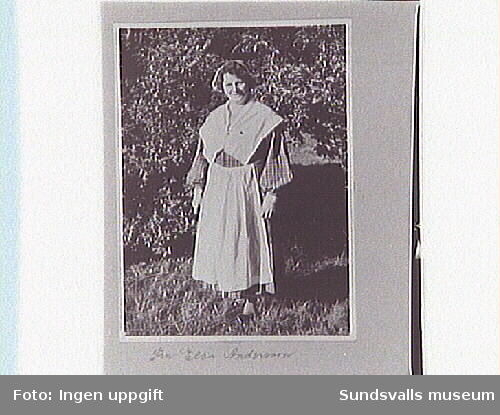 Fru Elsa Andersson, Sundsvalls Martha-förening.
