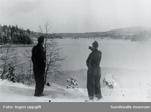 Orrsjön den 2 mars 1945.