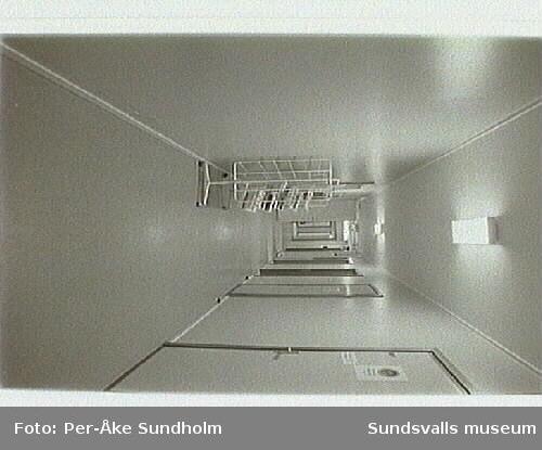 Dokumentation av varuhuset Forum, Storgatan 28, inför nedläggningen 1995-01-28.