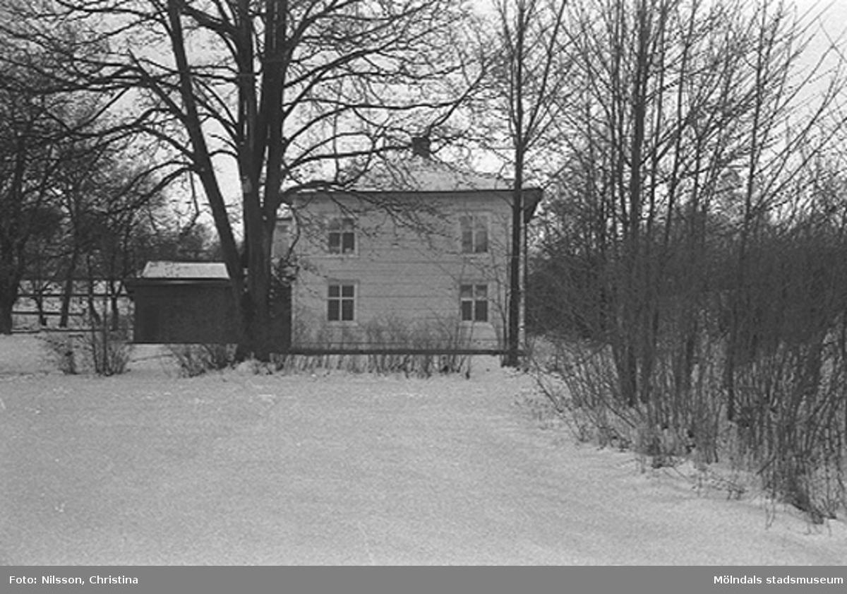 Boningshus av trä, Gröna huset, G-18, uppfört under 1890-talet.