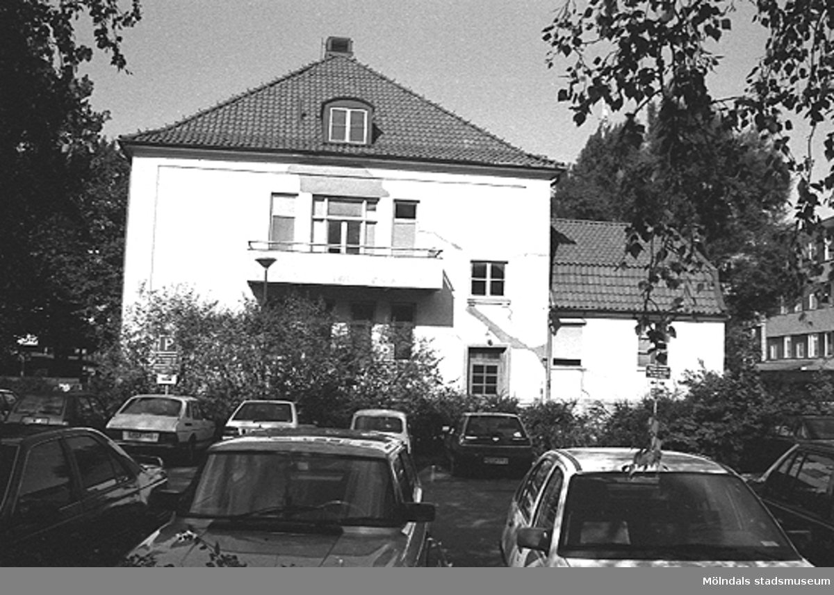 Vy mot norr, år 1992.