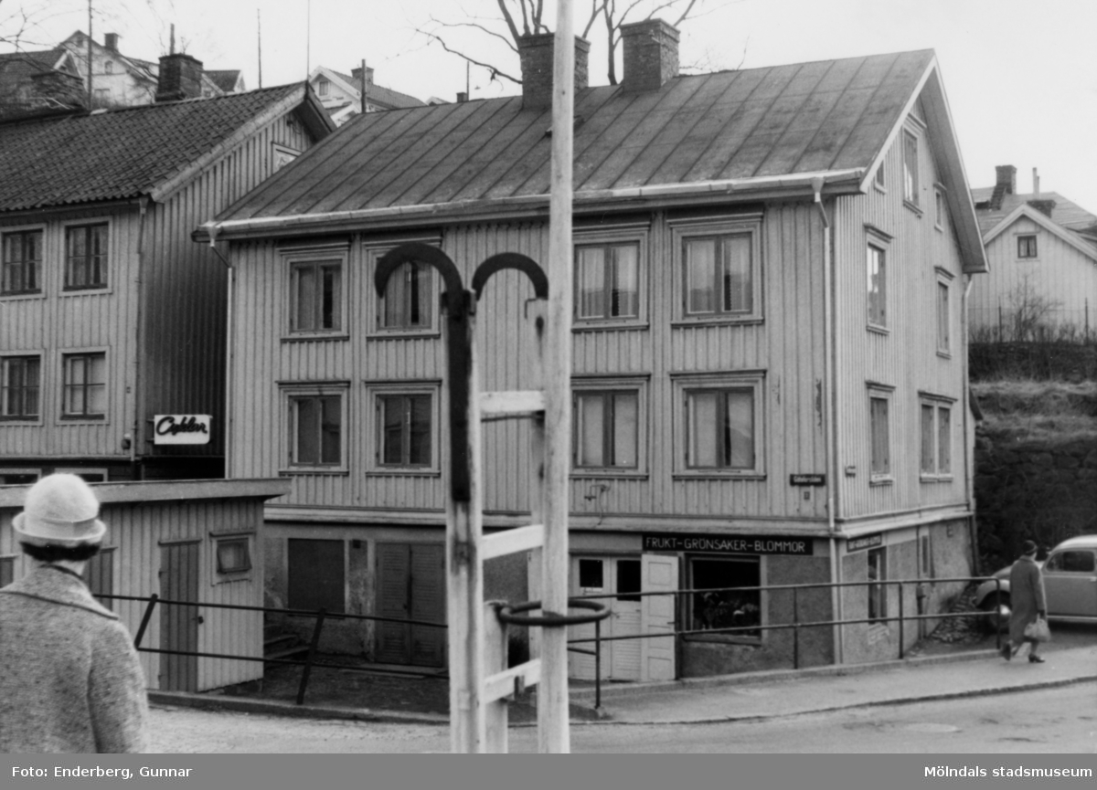 Huset byggdes troligen på 1860-talet.