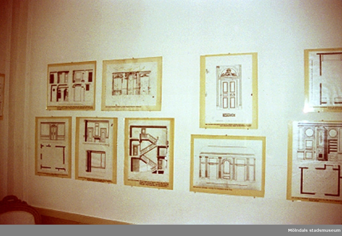 Utställning på Gunnebo slott. John Halls eller Carlsbergs teckningar.