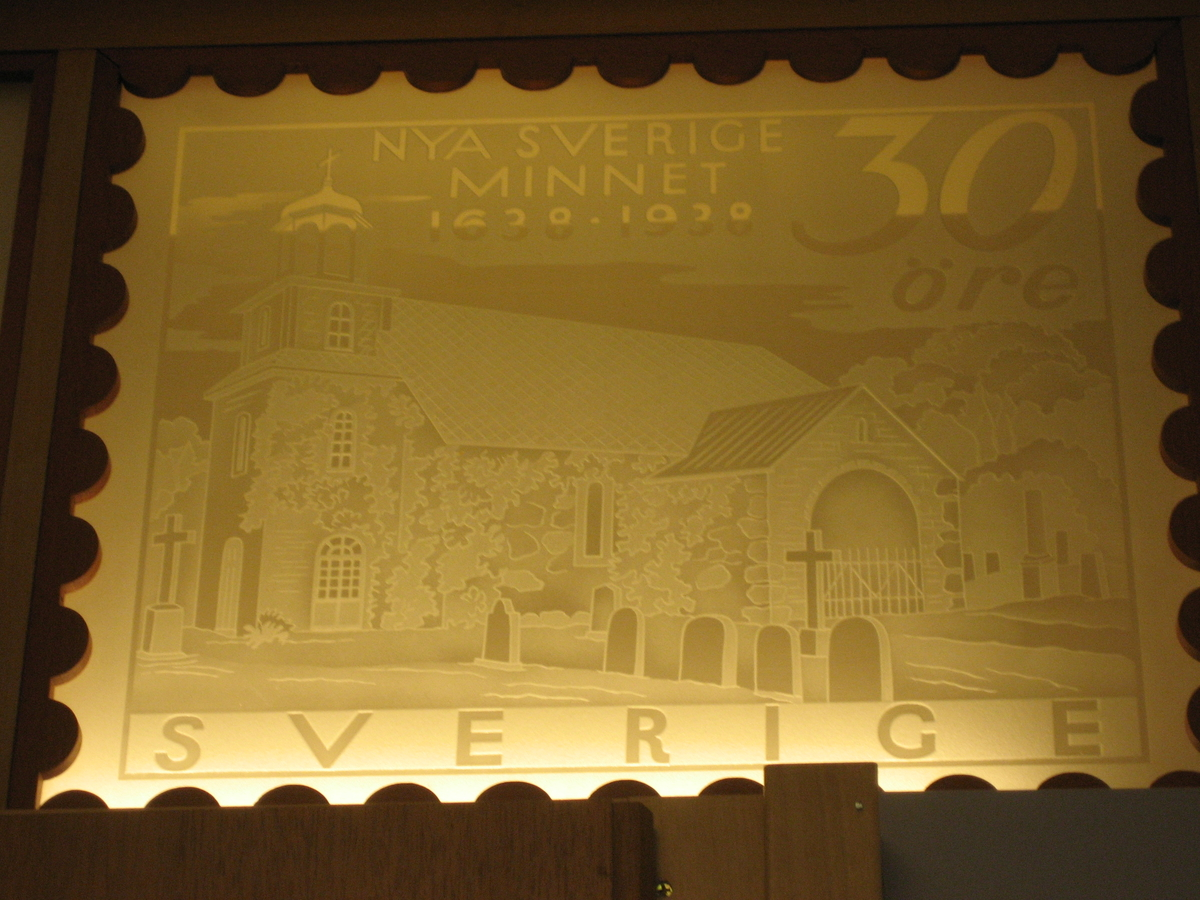 Nya Sverige minnet 1638 - 1938.