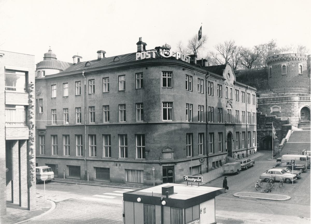 Exteriör av Postkontoret i Helsingborg. ca 1950-1965