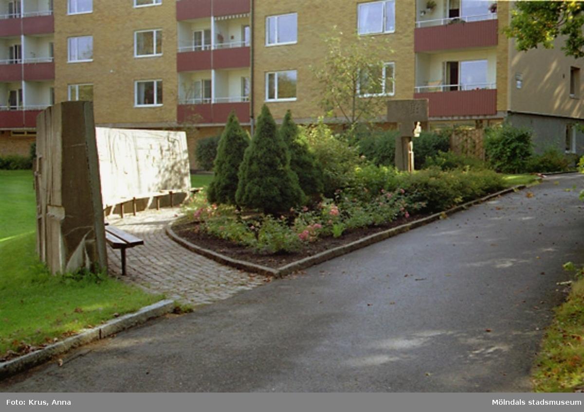 Västra Enerbacken - Skulpturalt rum.