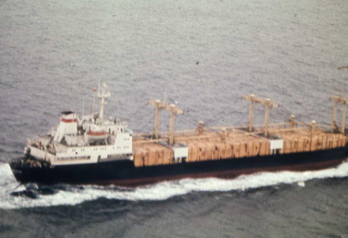 Russisk fartøy av typen Modifisert Nikolay Novikov og navnet er Vladimir Timofeev.