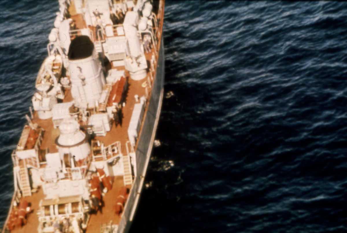 Russisk fartøy av Natya - klassen.