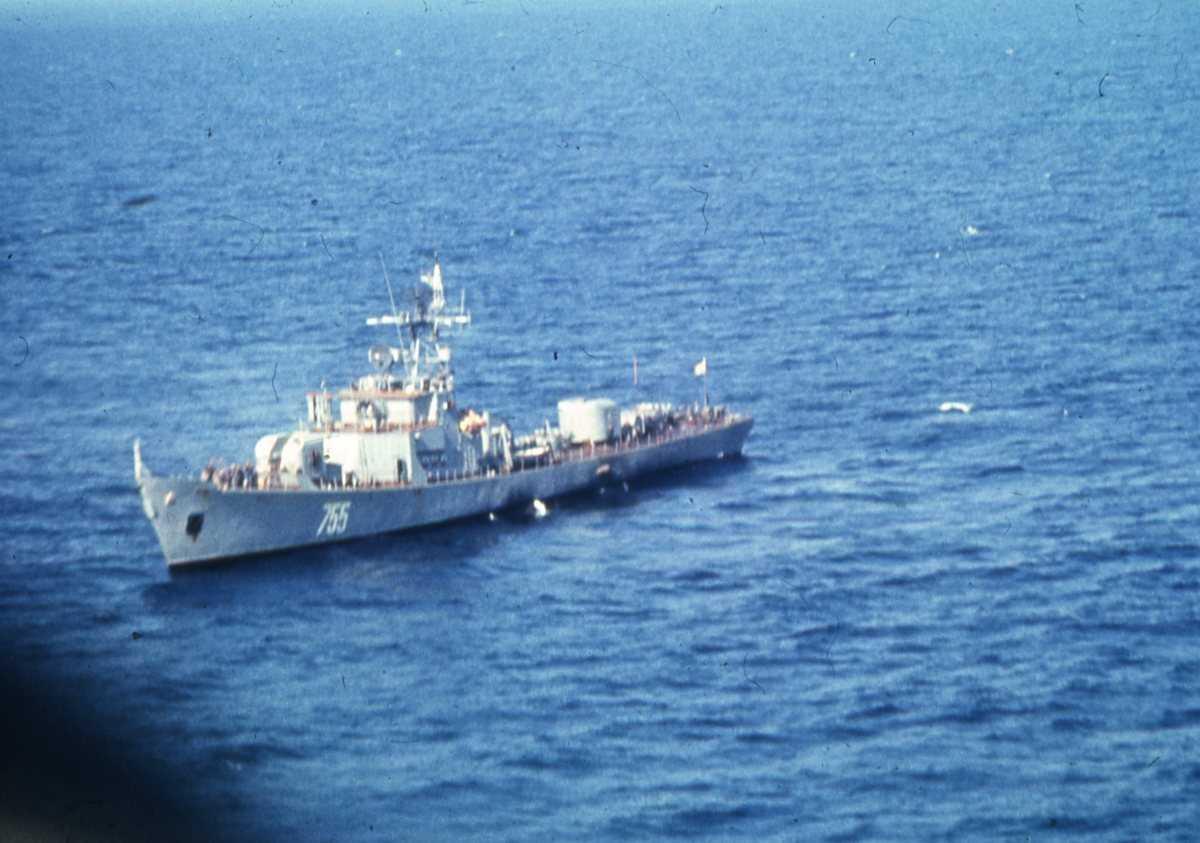 Russisk fartøy av Petya - klassen med nr. 755.