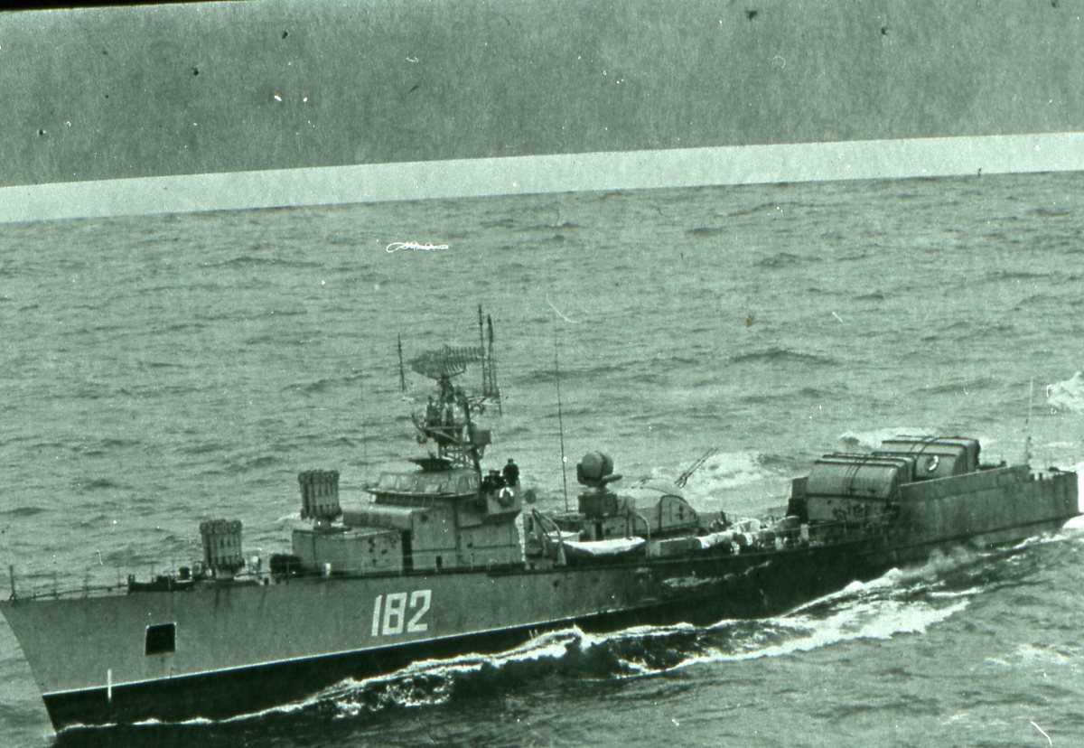 Russisk fartøy av Poti - klassen med nr. 182.
