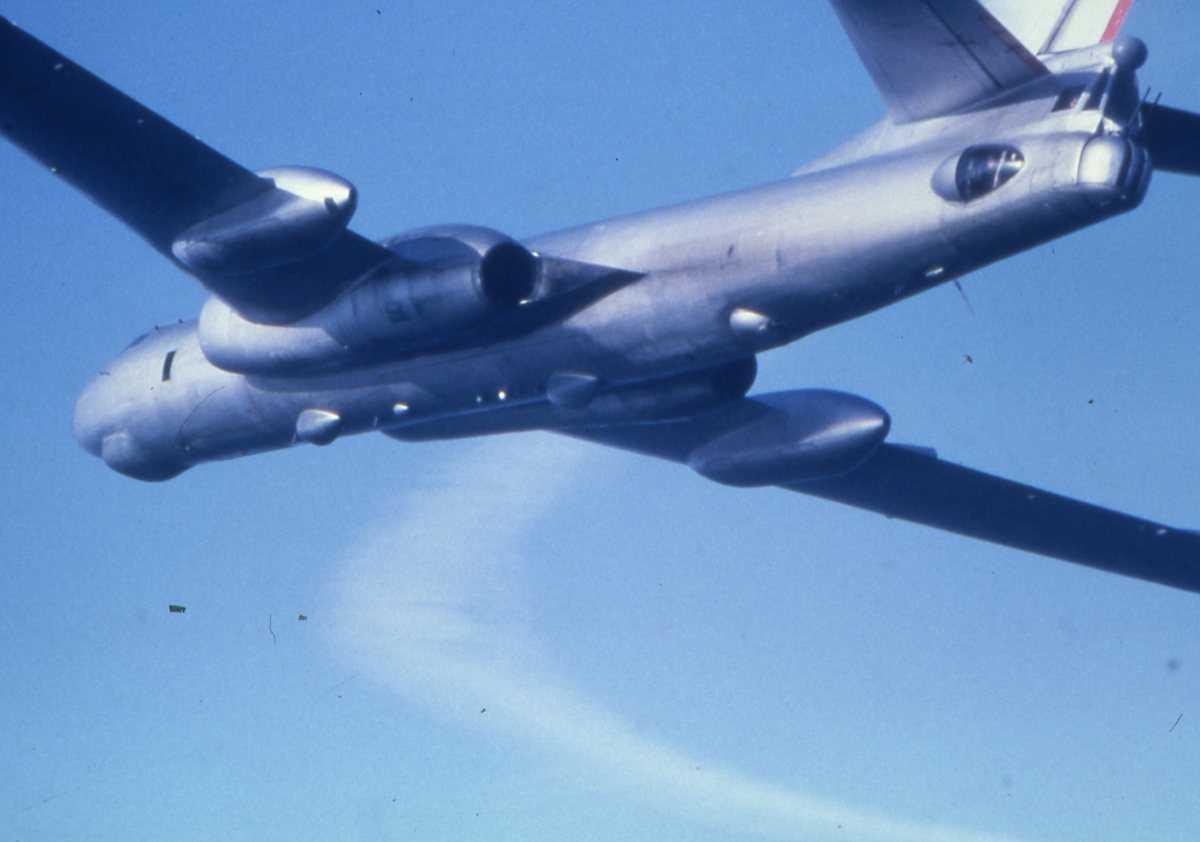 Russisk fly av typen Badger K.
