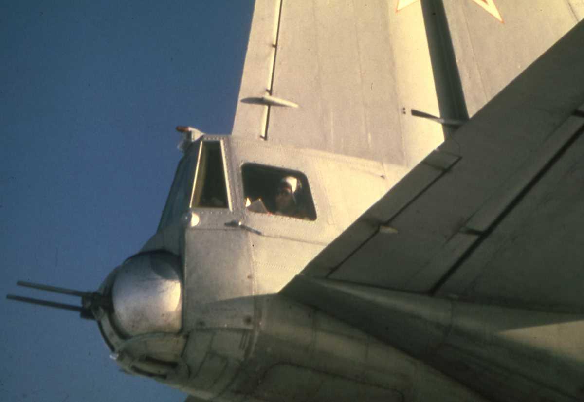 Russisk fly av typen Cub.