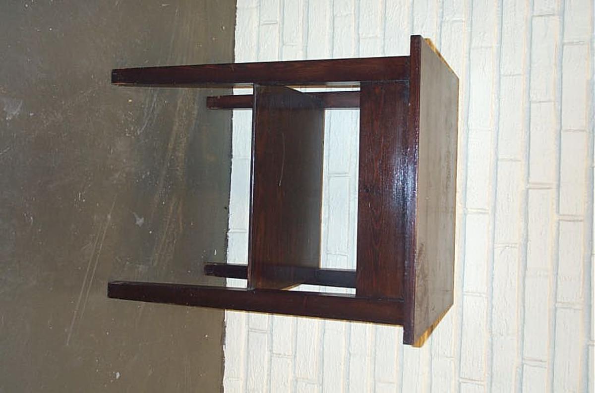 Form: Rektangulert   -  avlastningshylle under bordplata