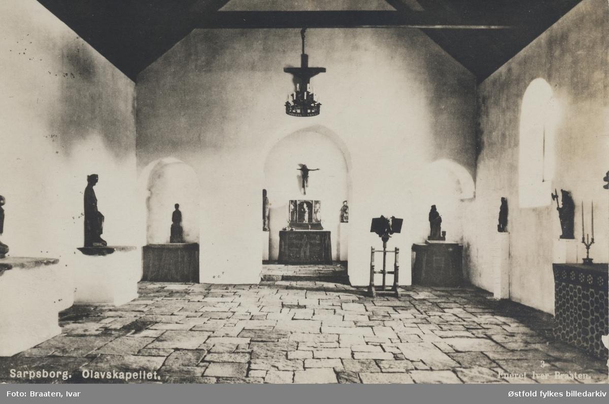 kapell, Olavskapellet, museum, utstilling, Borgarsyssel,