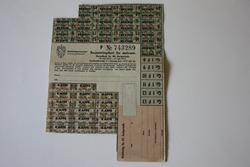Rasjoneringskort