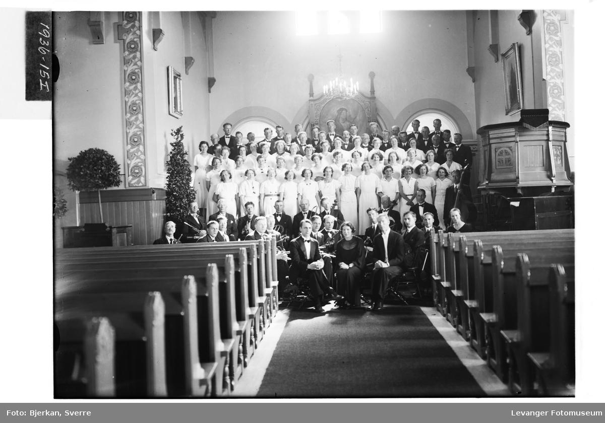 Levangerkantate med kor og orkester i Levanger kirke