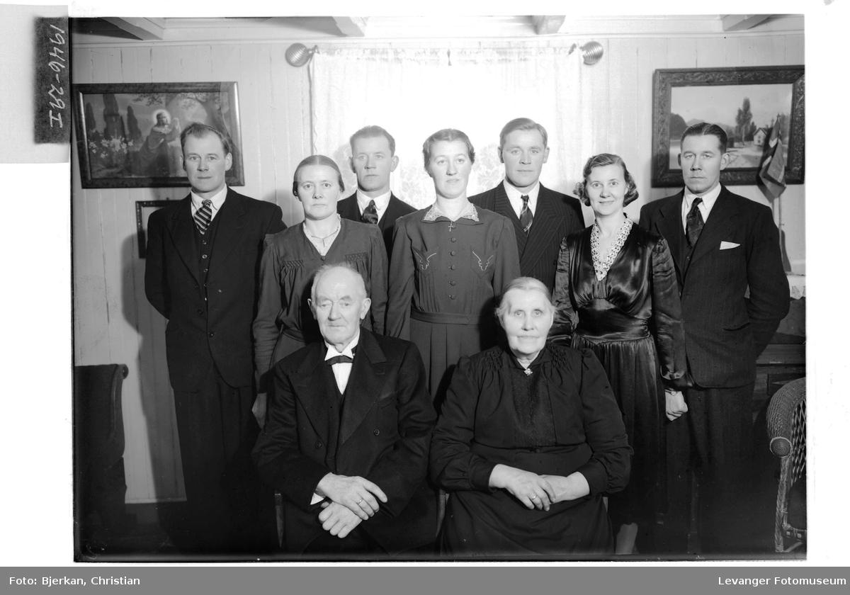 Ole Kjølen med familie
