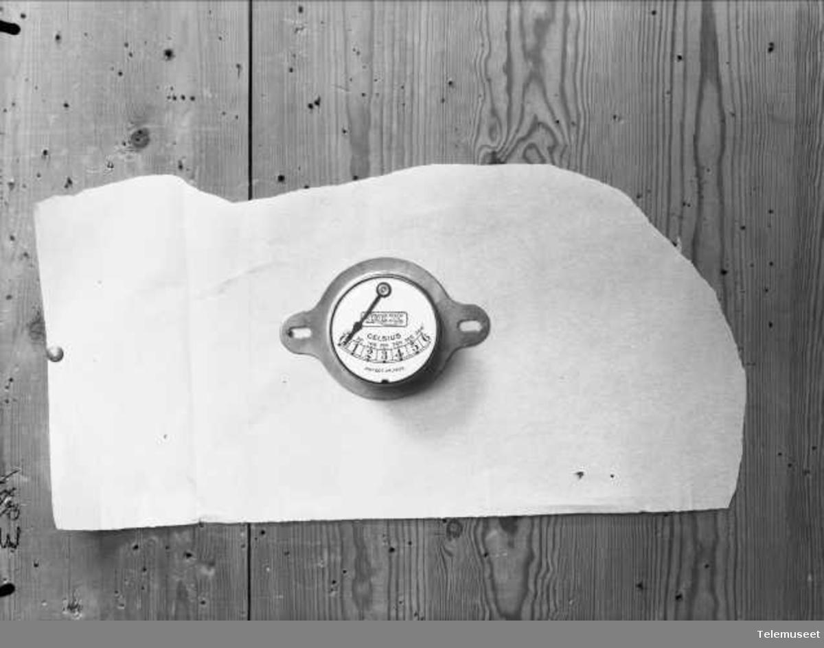 Termometer, for Rex stekeovn. Elektrisk Bureau.