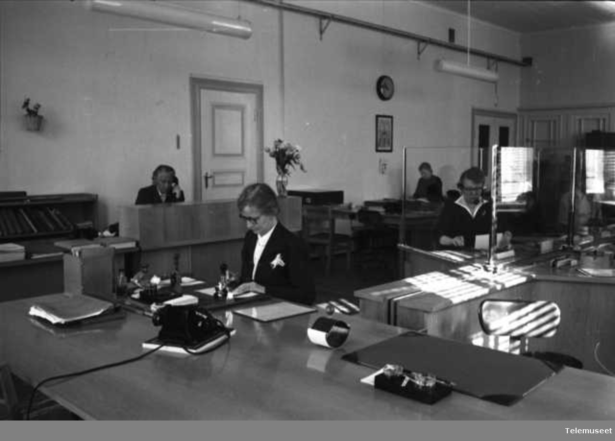 Bjørgvin telegrafdistrikt, interiør