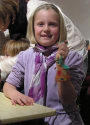 Juleverksted for barn på Berg-Kragerø Museum 21.11.2010 Kra