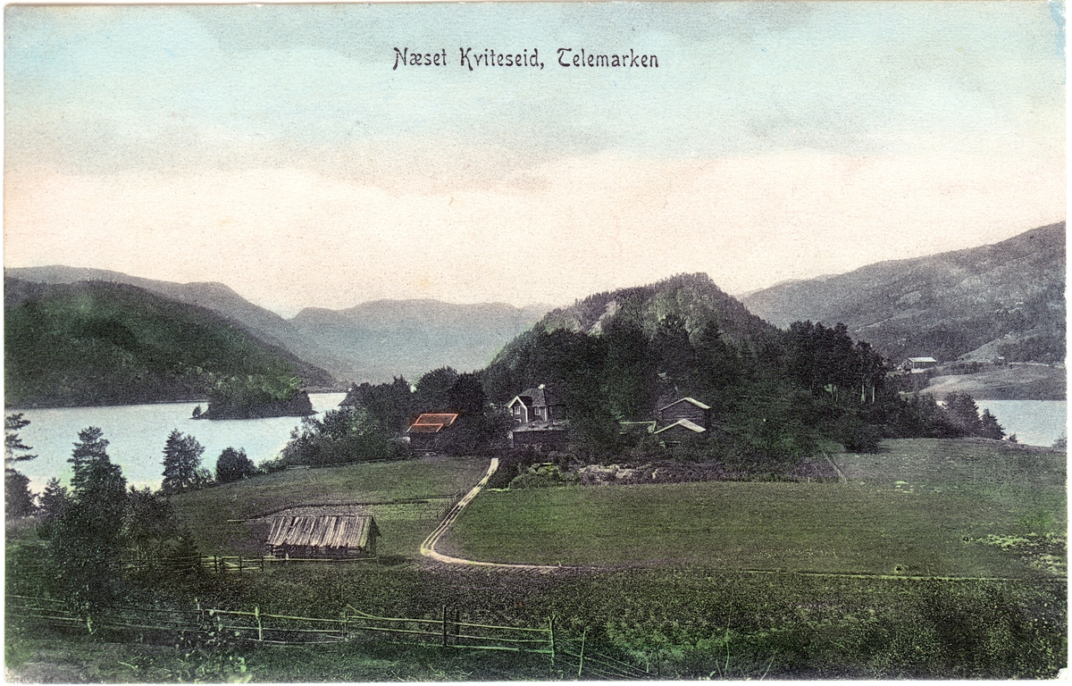 Neset, Kviteseid. Brukt 1907.