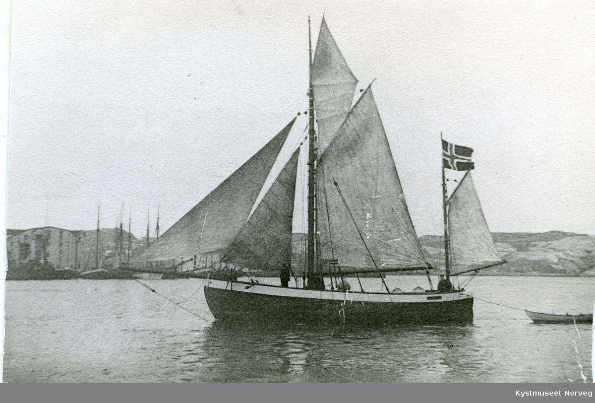 """Sigvart Fossaa`s båt """"Nordlyset"""""""
