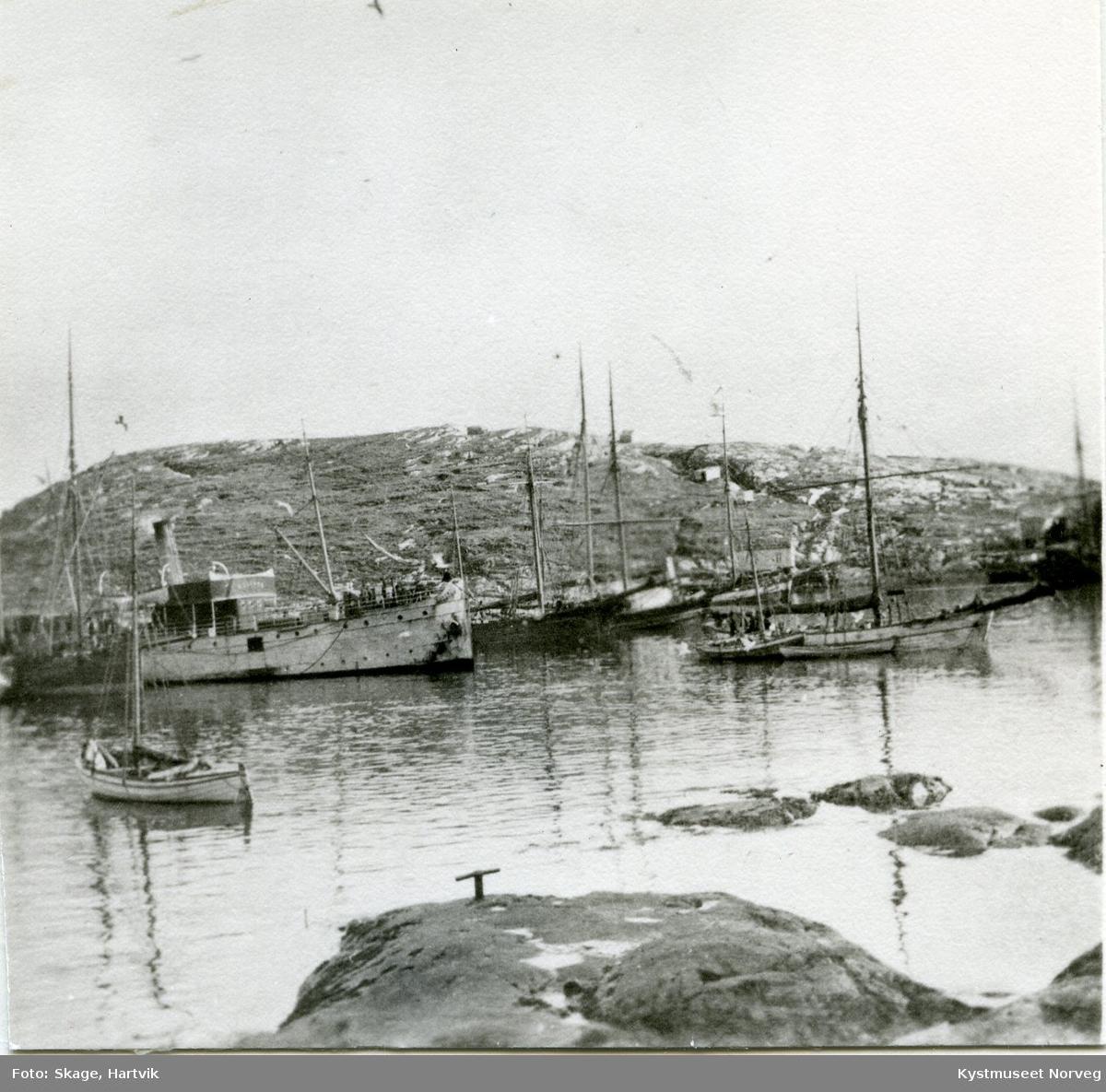 Sør-Gjæslingan, D/S Rollaug ved Hylla