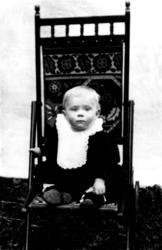 Gudrun Jensen som barn