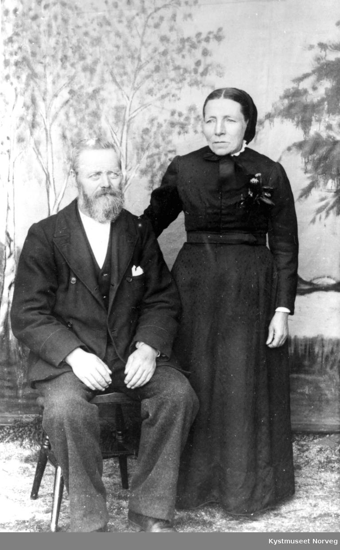 Beret og Ole Justen Ramstad