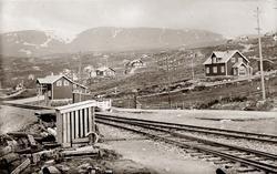 Jernbane, Tettstad, Ustaoset, Bergensbanen, Hyttegrend,kafe,