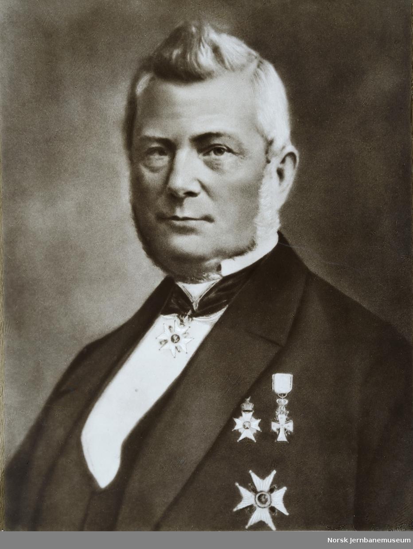 Portrett av statshauptmann Johan Jørgen Schwartz