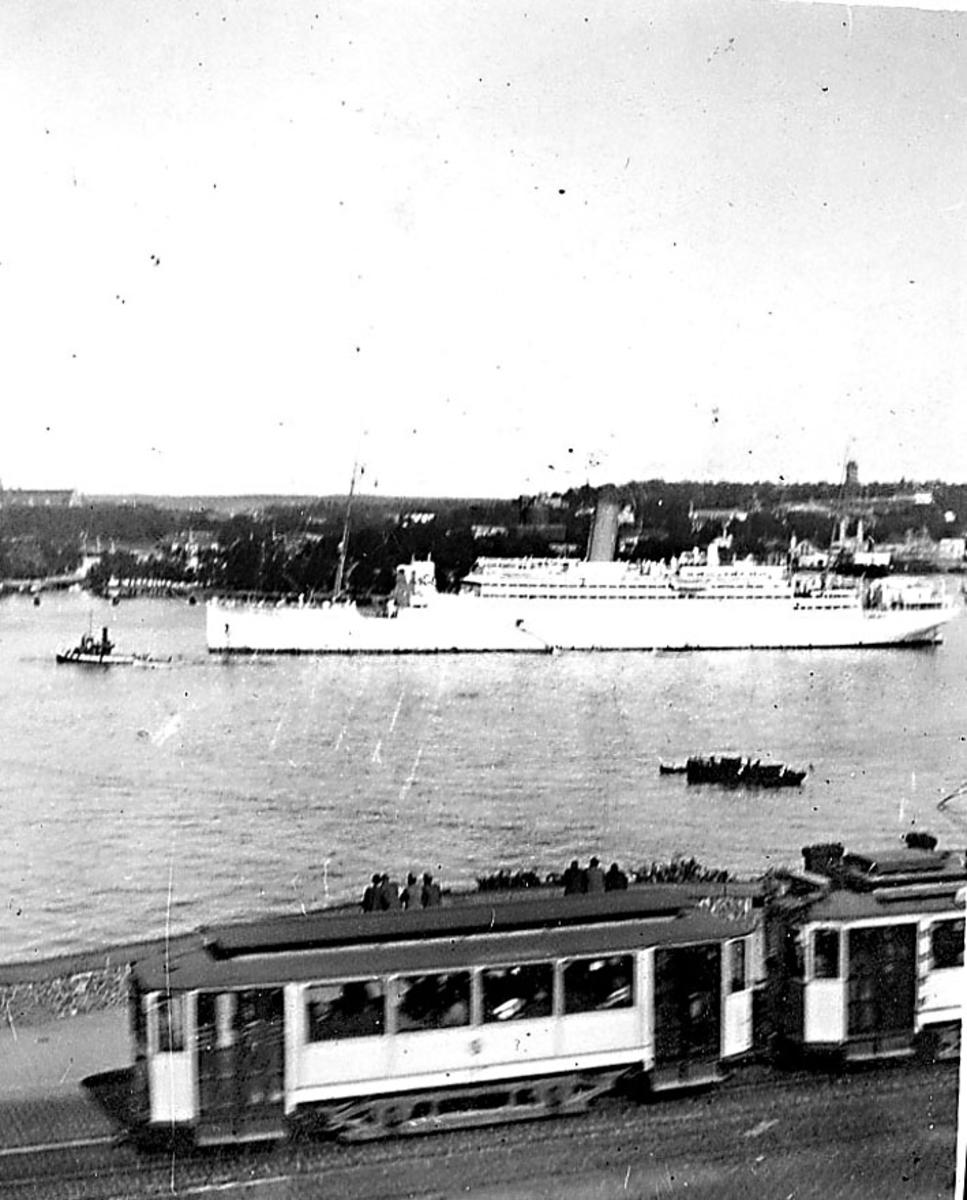 Övrigt: Utsikt ö Strömmen 1931