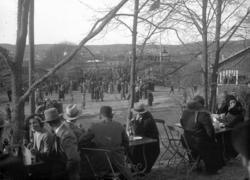 Fest i Folkets Park i samband med Uddevallautställningen 192