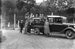 tur til Skånevik og Årefjorden i Hardanger, Ford V8 lastebil