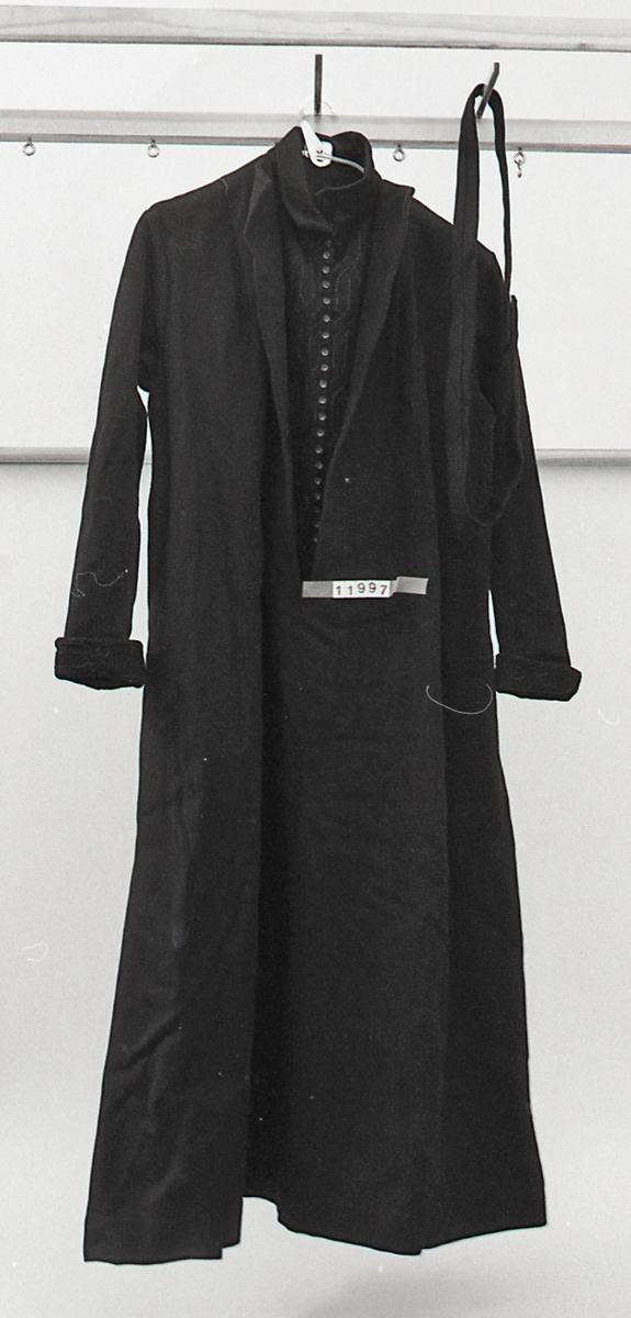 Form: Lang kjole
