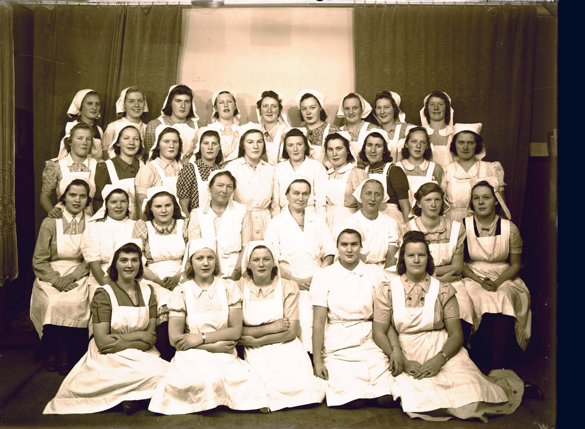 Gruppebilde - Haugesunds Husmorskole