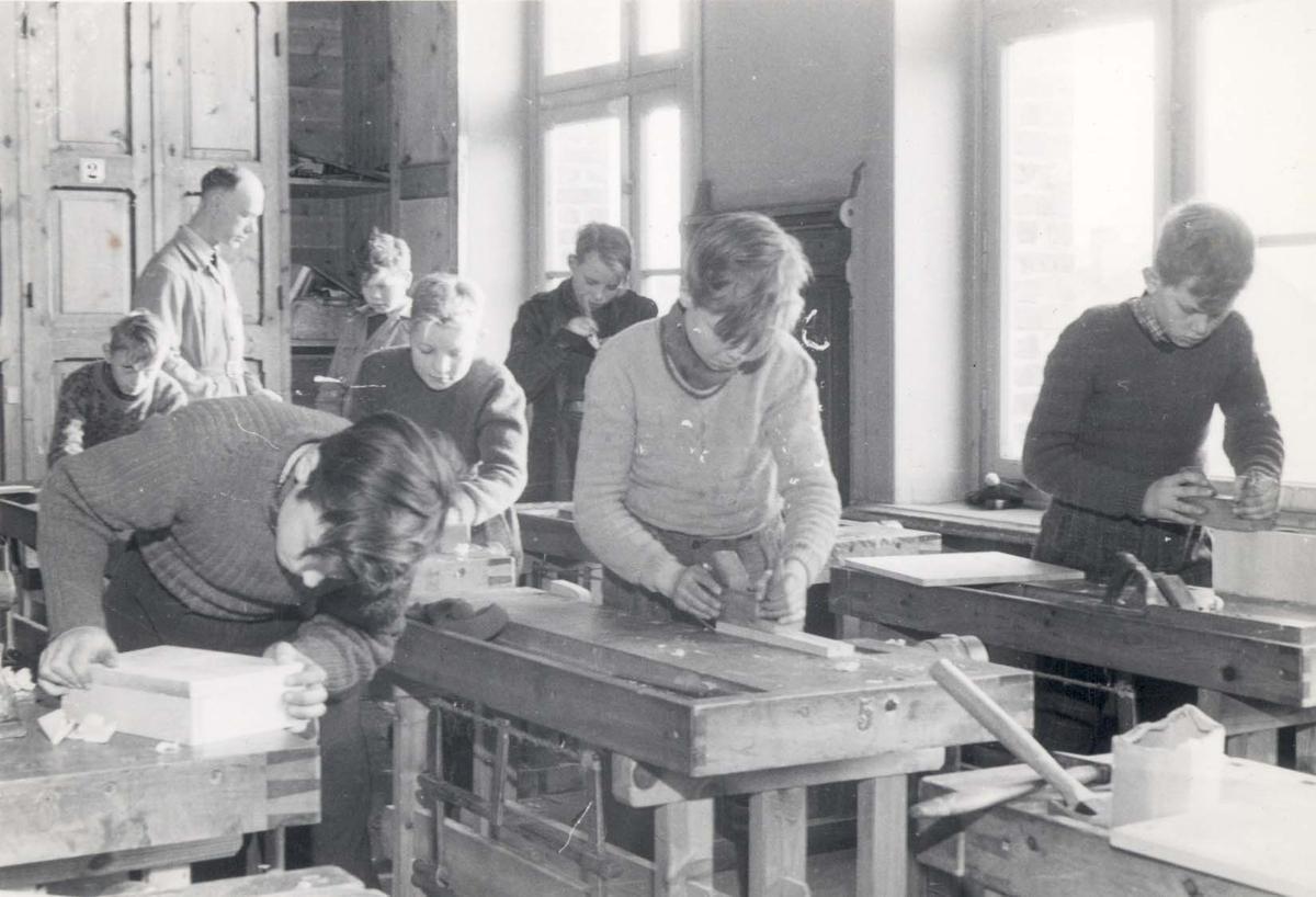 Interiør - Skoleklasse.
