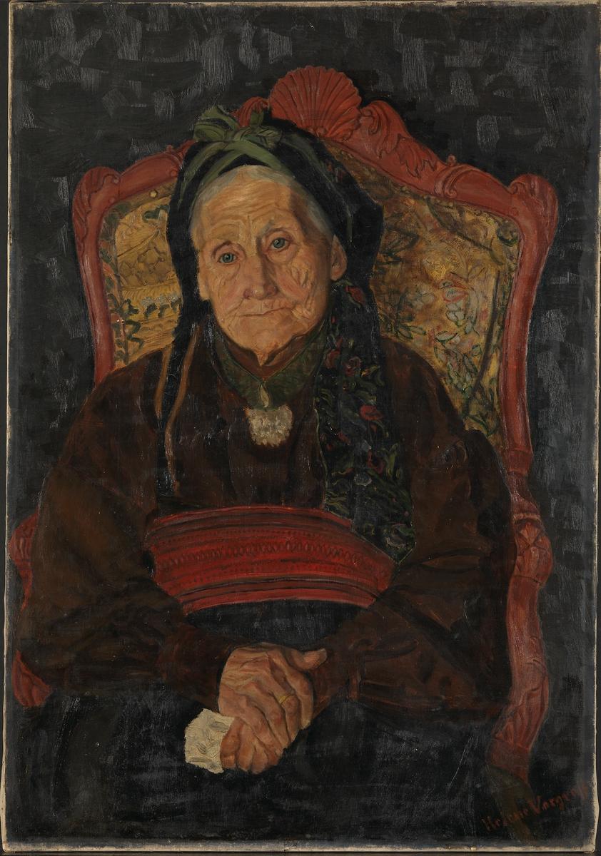 Mor Kleppen [Maleri]