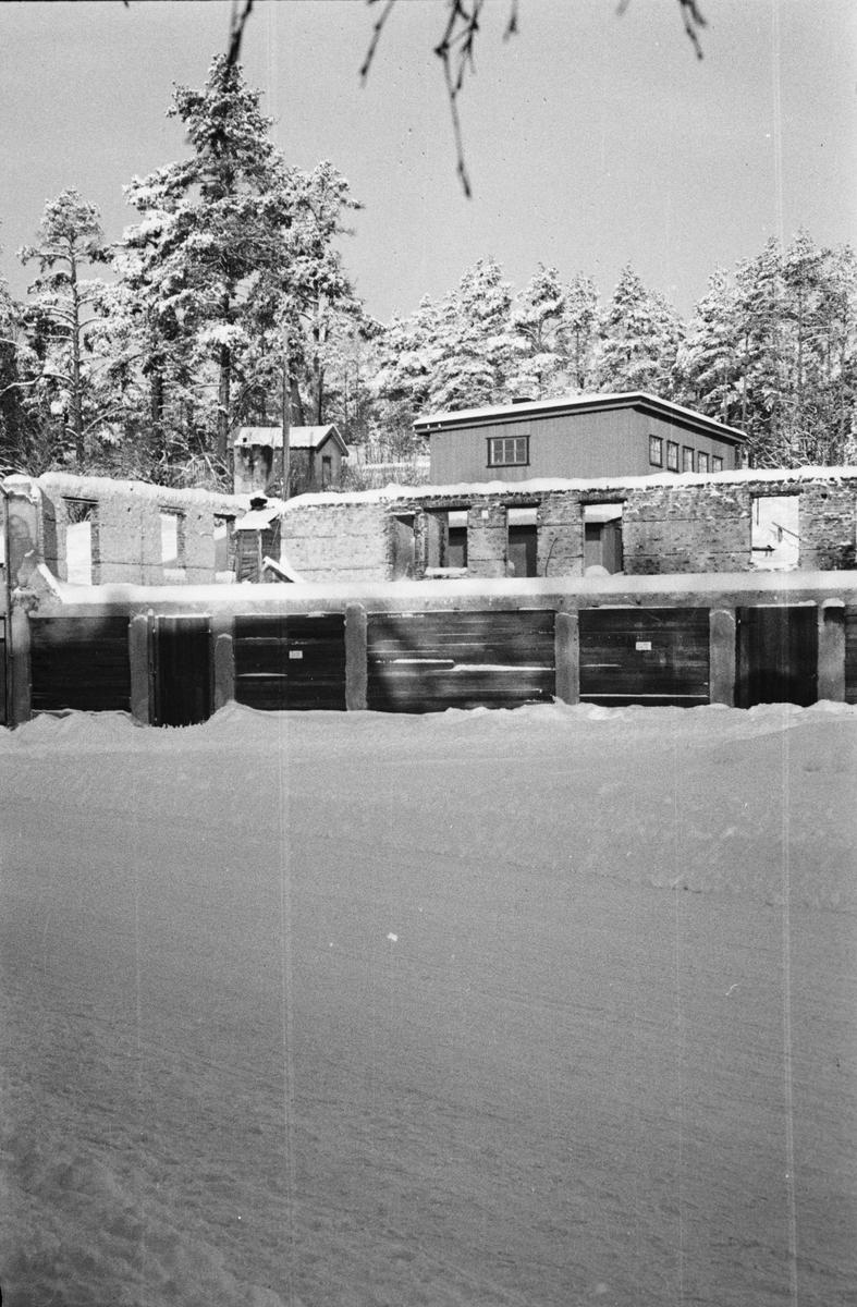 Leiret, Elverum. Ruiner. Pedersengården.