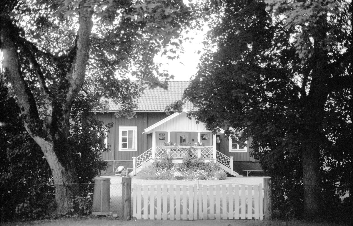 Bostadshus, Vällnora bruk, Knutby-Åsby 1:19, Vällnora, Knutby socken, Uppland 1987