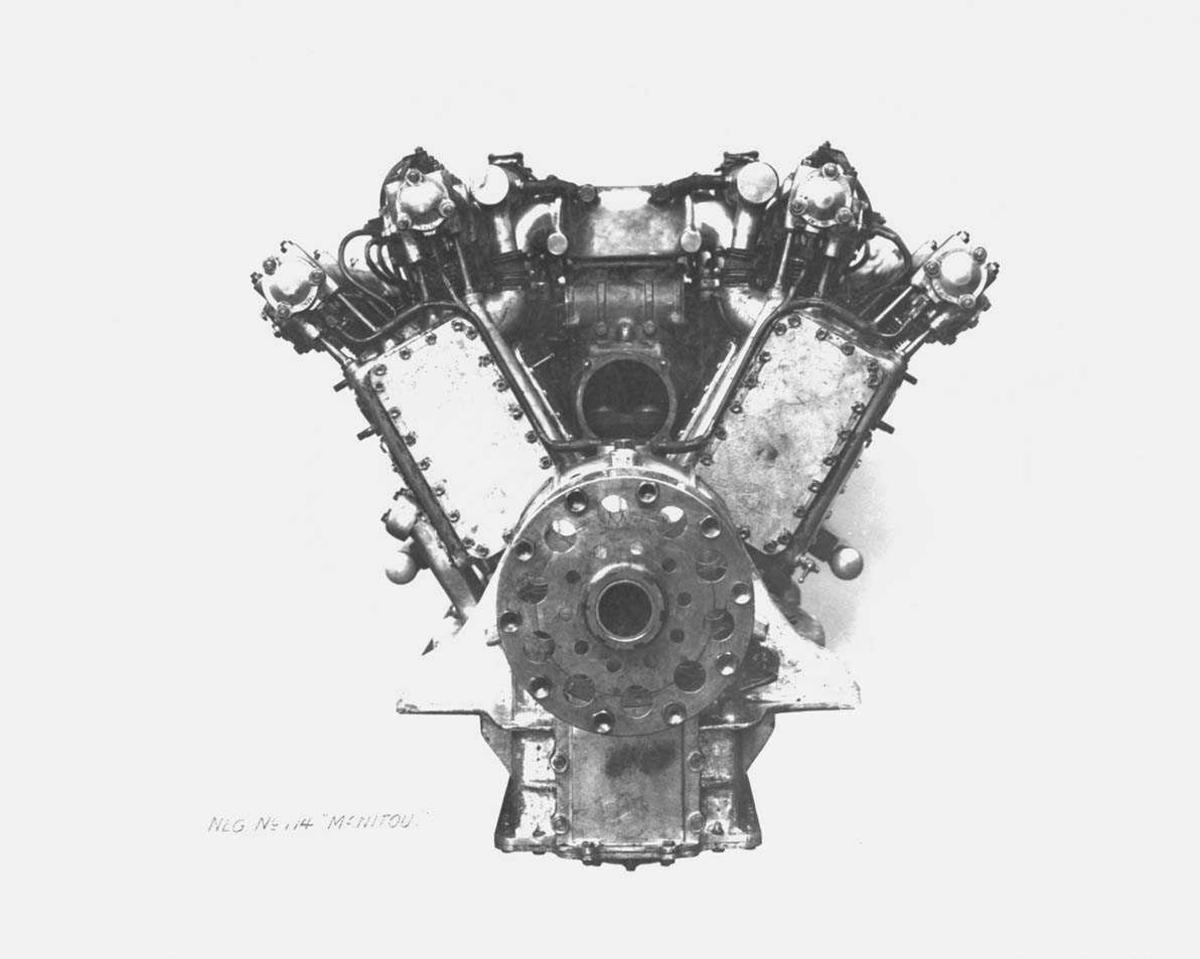 Flymotor. Sunbeam Manitou 300 hk