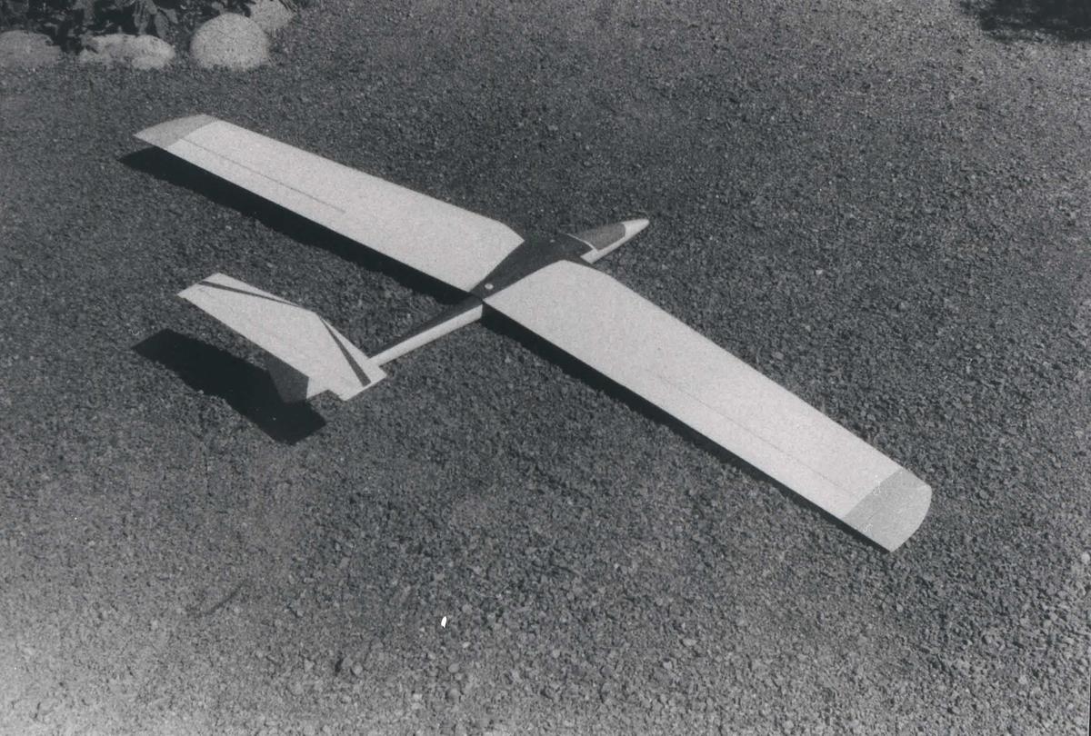 Ett modellfly, Karo AS Hangmodell.