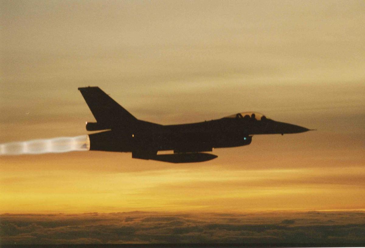 Ett fly i lufta , F-16A