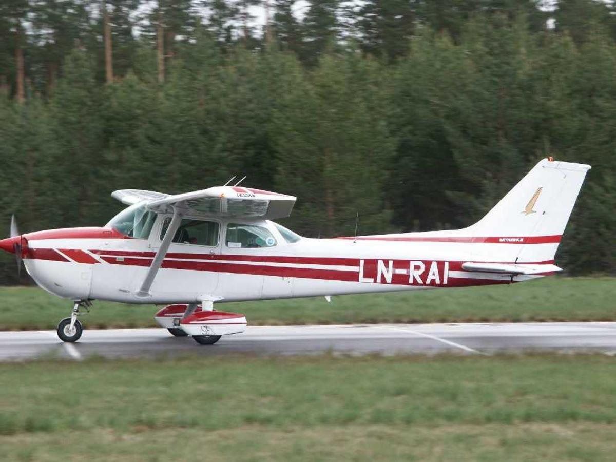 Ett fly på bakken, Cessna 172N LN-RAI