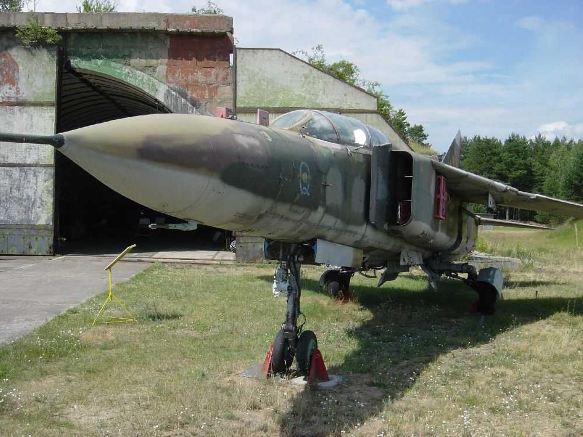 Ett fly på bakken, Mig 27.